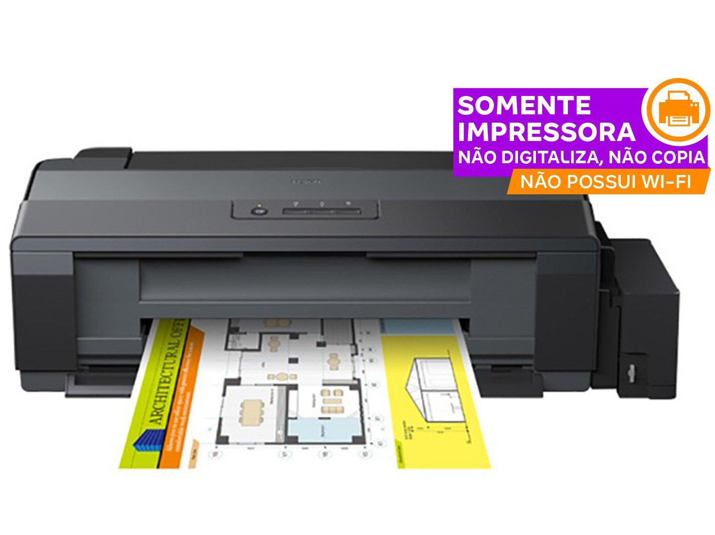 Foto 2 - Impressora Epson EcoTank L1300 Colorida - USB