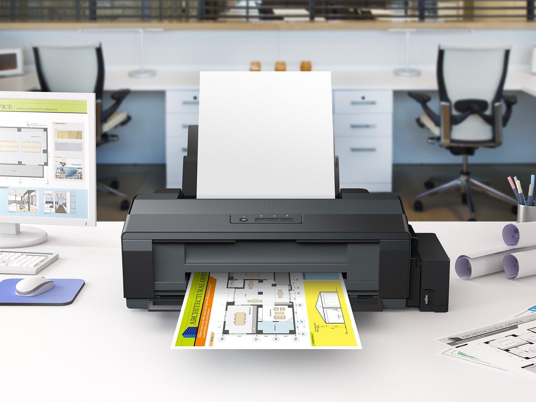 Foto 4 - Impressora Epson EcoTank L1300 Colorida - USB