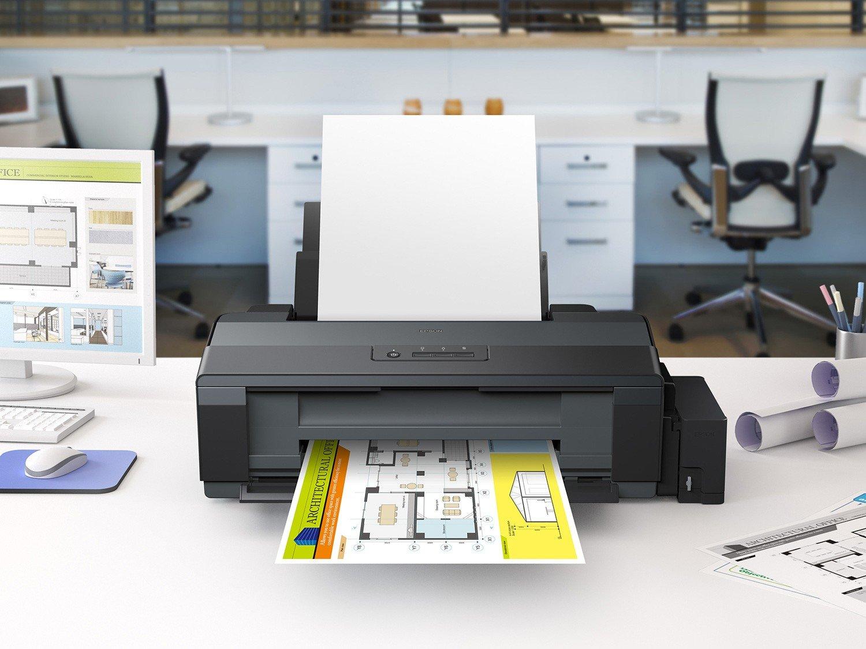 Foto 5 - Impressora Epson EcoTank L1300 Colorida - USB