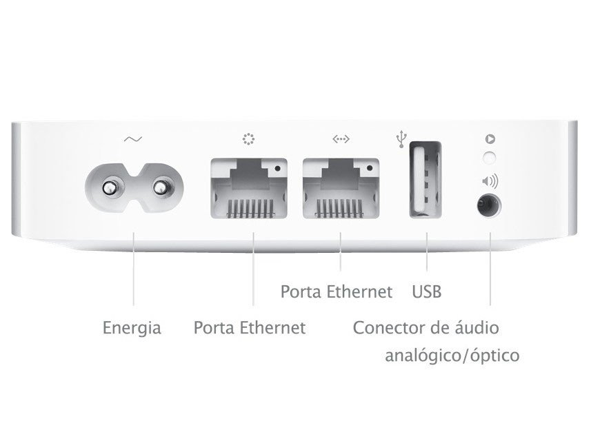 Foto 5 - Roteador AirPort Express - Apple