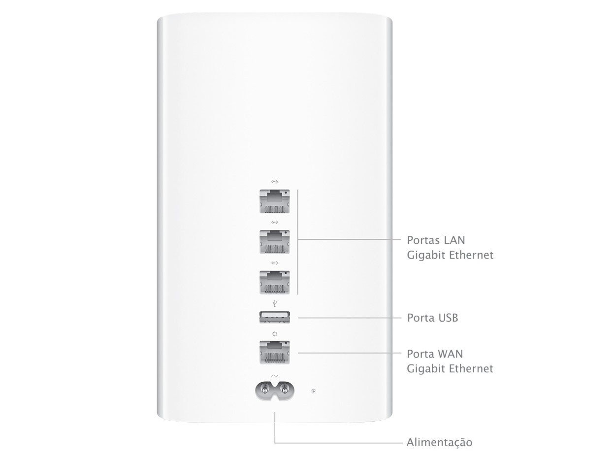 Foto 4 - Roteador Airport Extreme - Apple