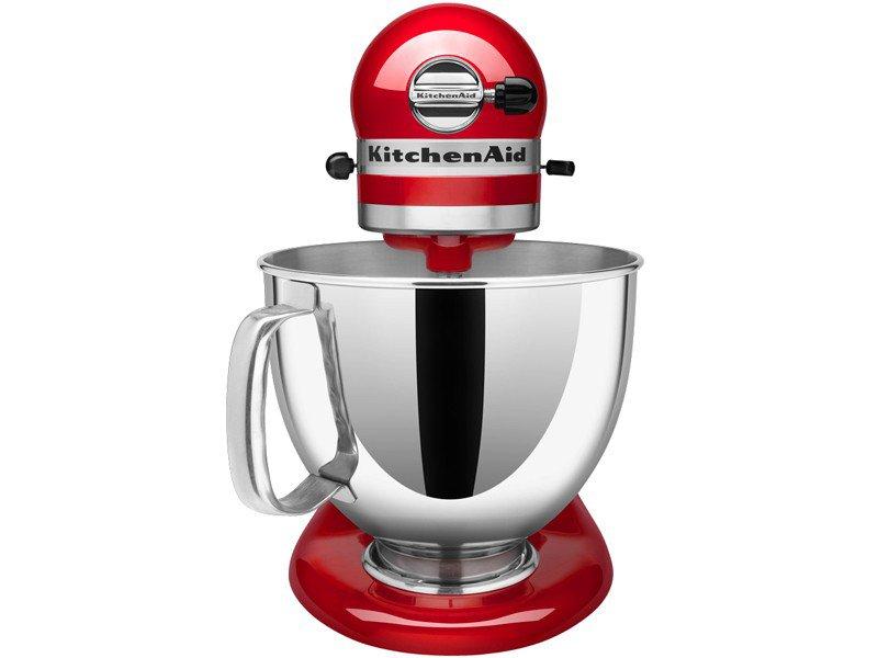Batedeira Planetária KitchenAid Stand Mixer com 10 Velocidades + Função Pulsar - Vermelha - 110v - 2