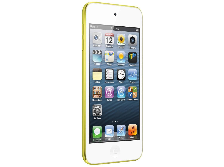 Foto 2 - iPod Touch Apple 16GB Multi-Touch Wi-Fi Bluetooth - Câmera 5MP MGG12BZ/A Amarelo