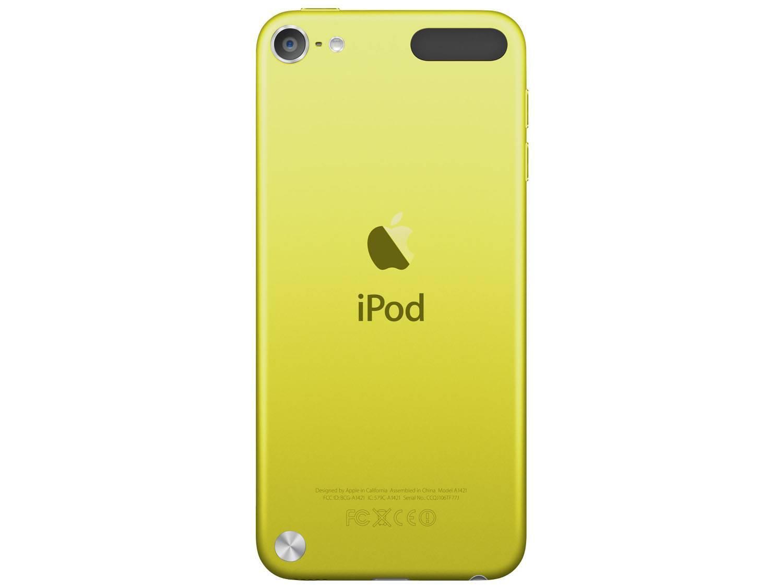 Foto 3 - iPod Touch Apple 16GB Multi-Touch Wi-Fi Bluetooth - Câmera 5MP MGG12BZ/A Amarelo