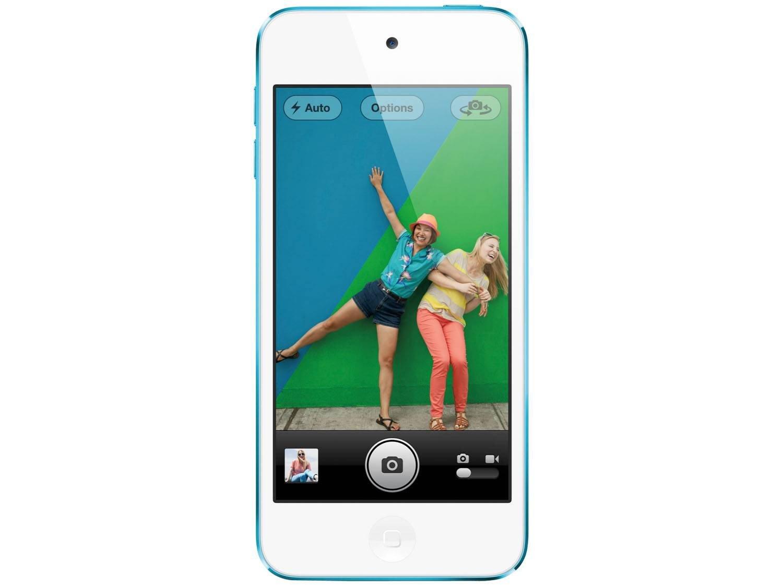 Foto 3 - iPod Touch Apple 16GB Multi-Touch Wi-Fi Bluetooth - Câmera 5MP MGG32BZ/A Azul