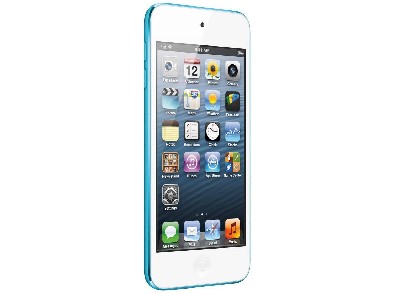 Foto 4 - iPod Touch Apple 16GB Multi-Touch Wi-Fi Bluetooth - Câmera 5MP MGG32BZ/A Azul