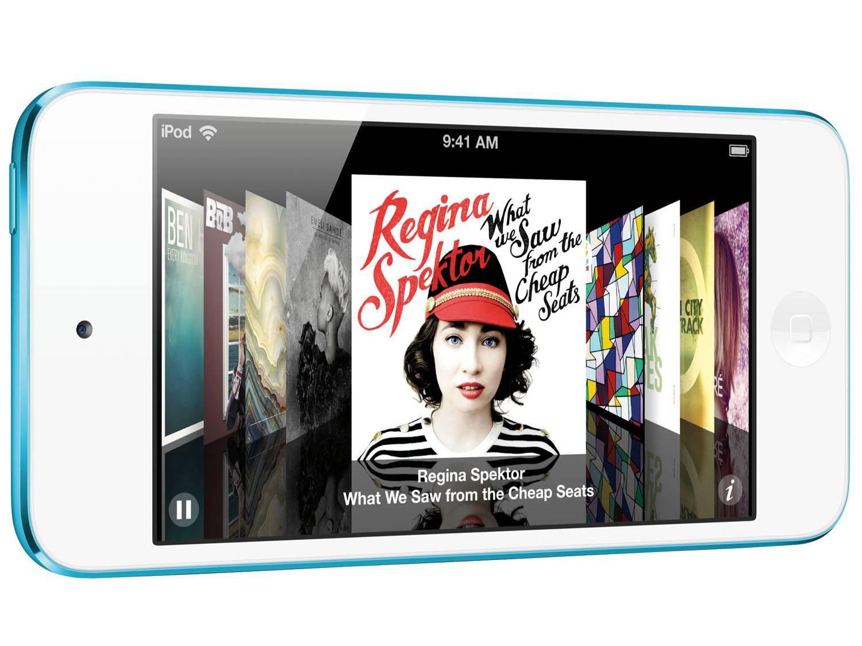 Foto 5 - iPod Touch Apple 16GB Multi-Touch Wi-Fi Bluetooth - Câmera 5MP MGG32BZ/A Azul