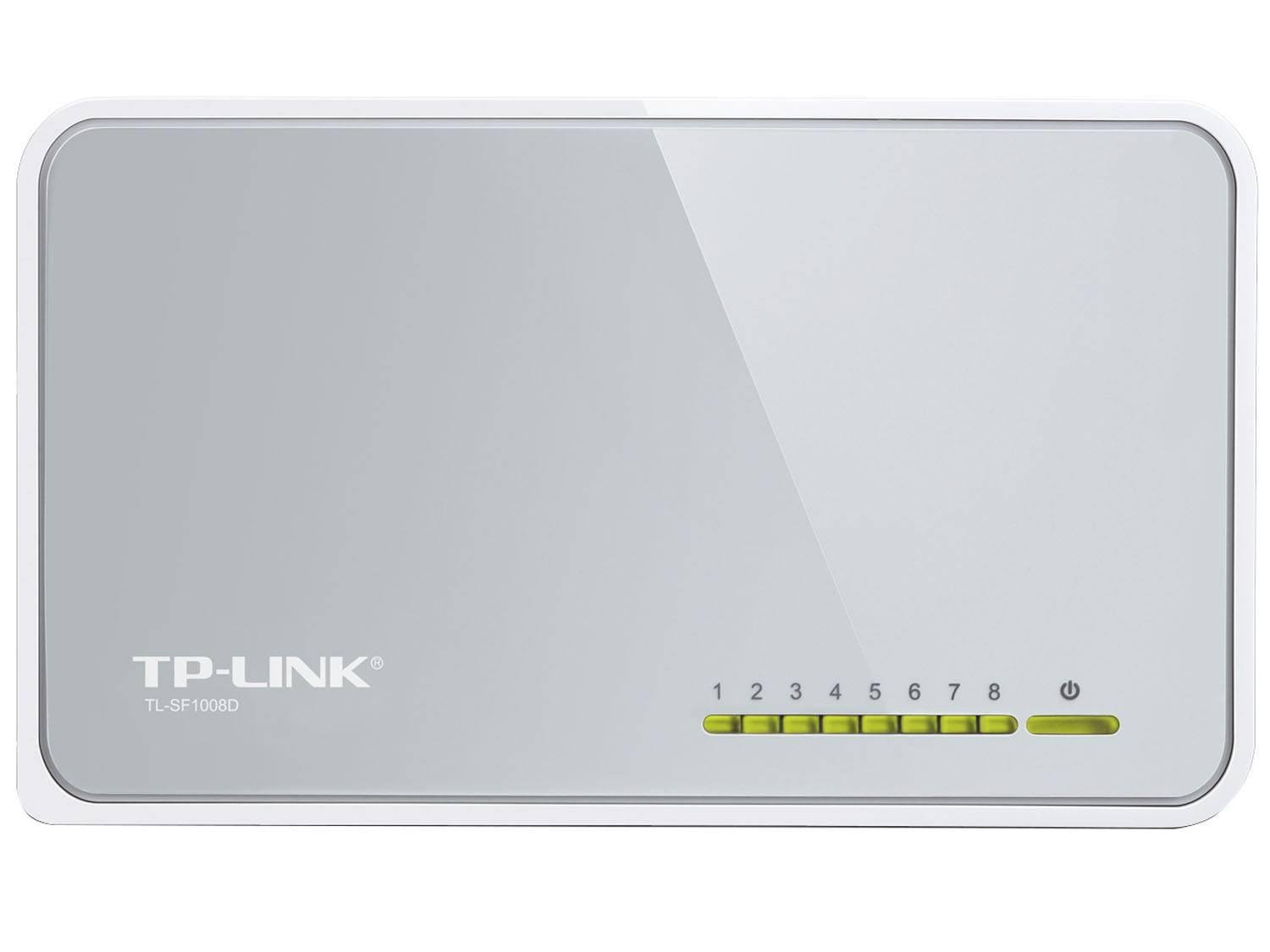 Foto 2 - Switch 8 Portas - TP-Link TL-SF1008D