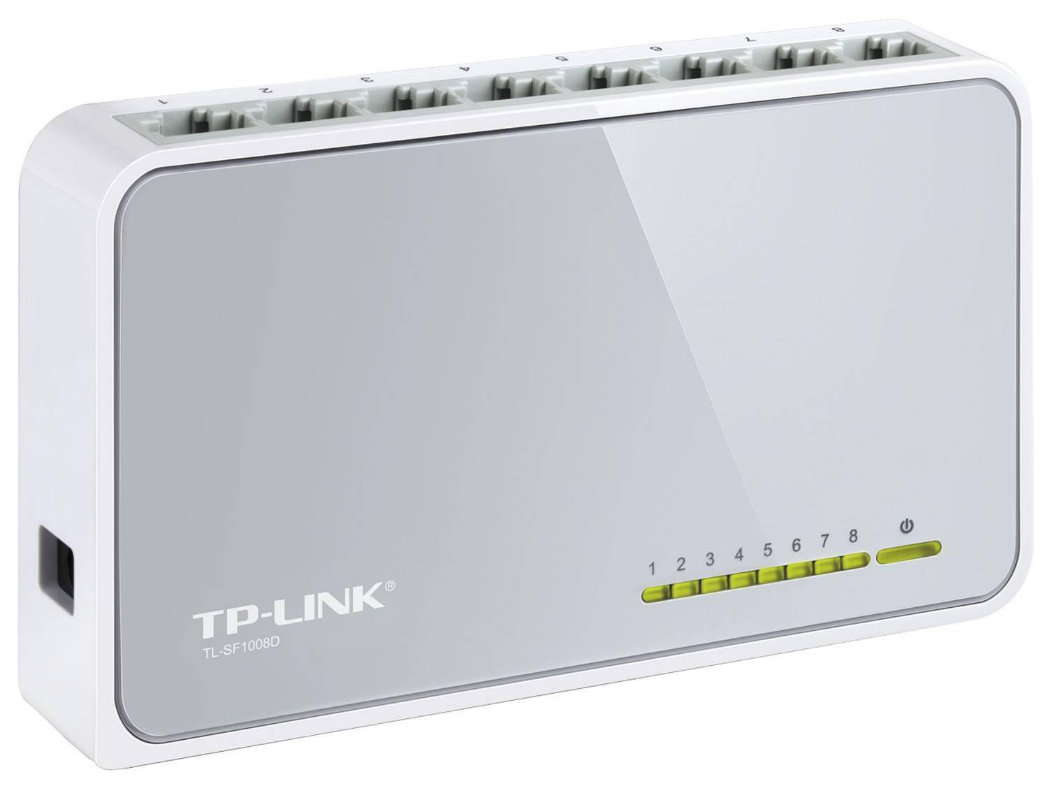 Foto 3 - Switch 8 Portas - TP-Link TL-SF1008D