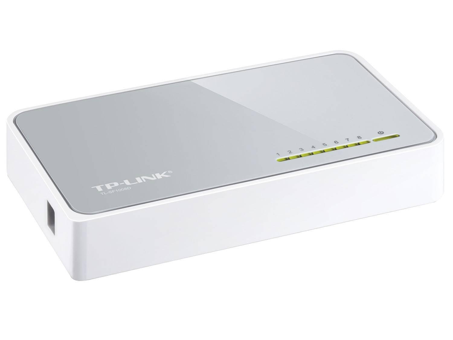 Foto 4 - Switch 8 Portas - TP-Link TL-SF1008D