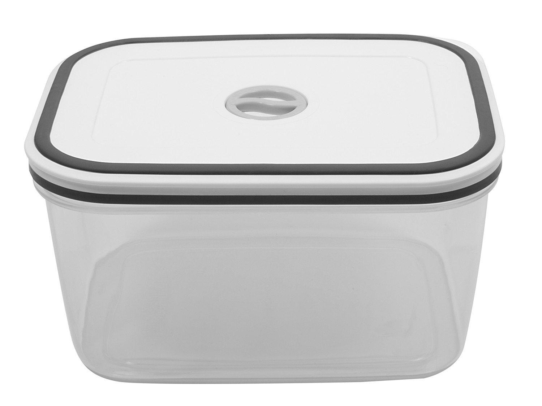 Jogo de Potes de Plástico Hermético Electrolux - com Tampa Quadrado 80000565 10 Peças - 8