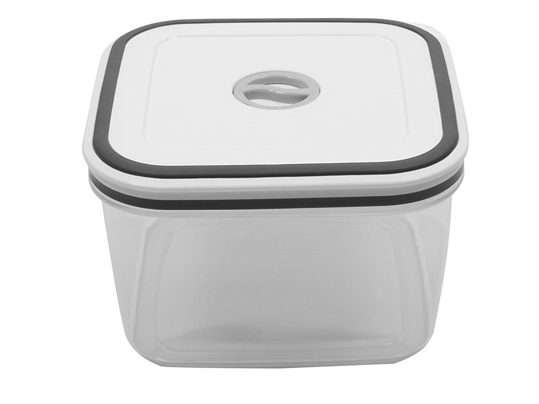 Jogo de Potes de Plástico Hermético Electrolux - com Tampa Quadrado 80000565 10 Peças - 10