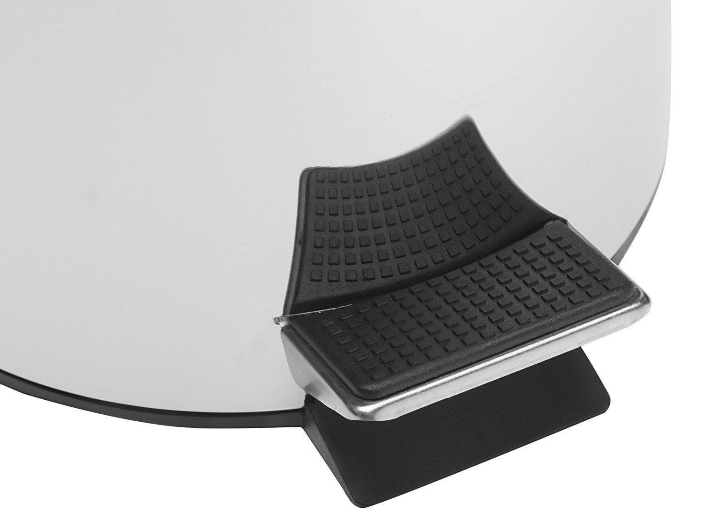 Lixeira Inox 3L - Brinox Decorline Standard - 4