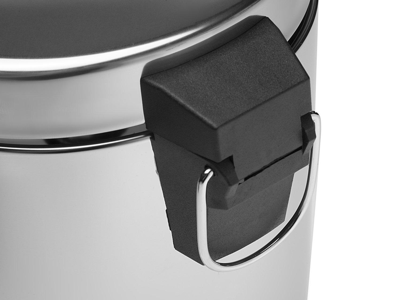 Lixeira Inox 3L - Brinox Decorline Standard - 9