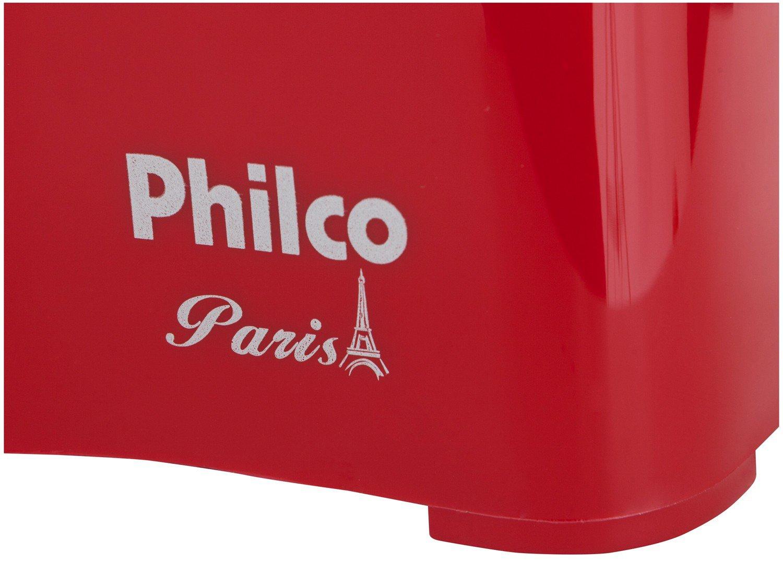 Foto 9 - Batedeira Philco Portátil Vermelha Paris 200W - 4 Velocidades