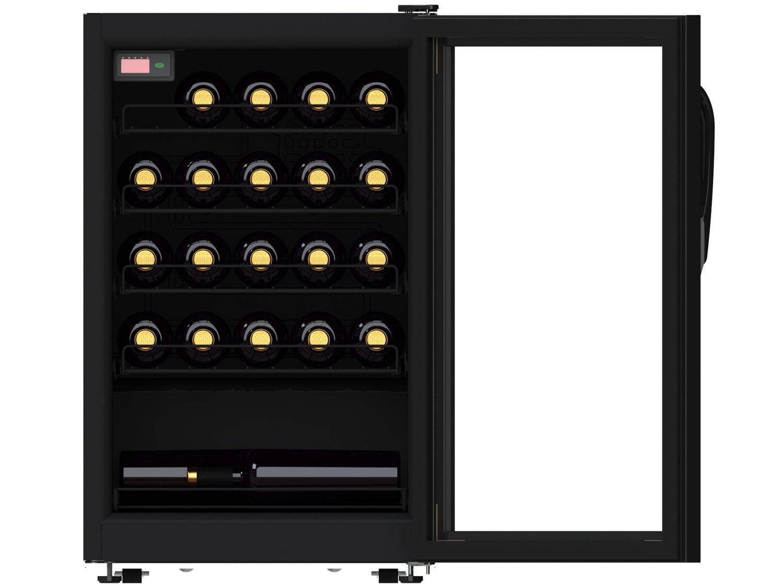 Foto 2 - Adega Climatizada Venax 24 Garrafas Ngv 100 7838 - com Compressor Controle Digital de Temperatura