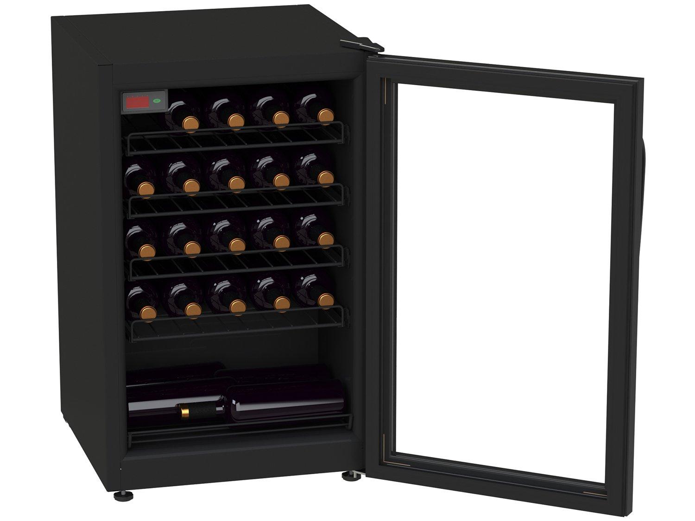 Foto 4 - Adega Climatizada Venax 24 Garrafas Ngv 100 7838 - com Compressor Controle Digital de Temperatura