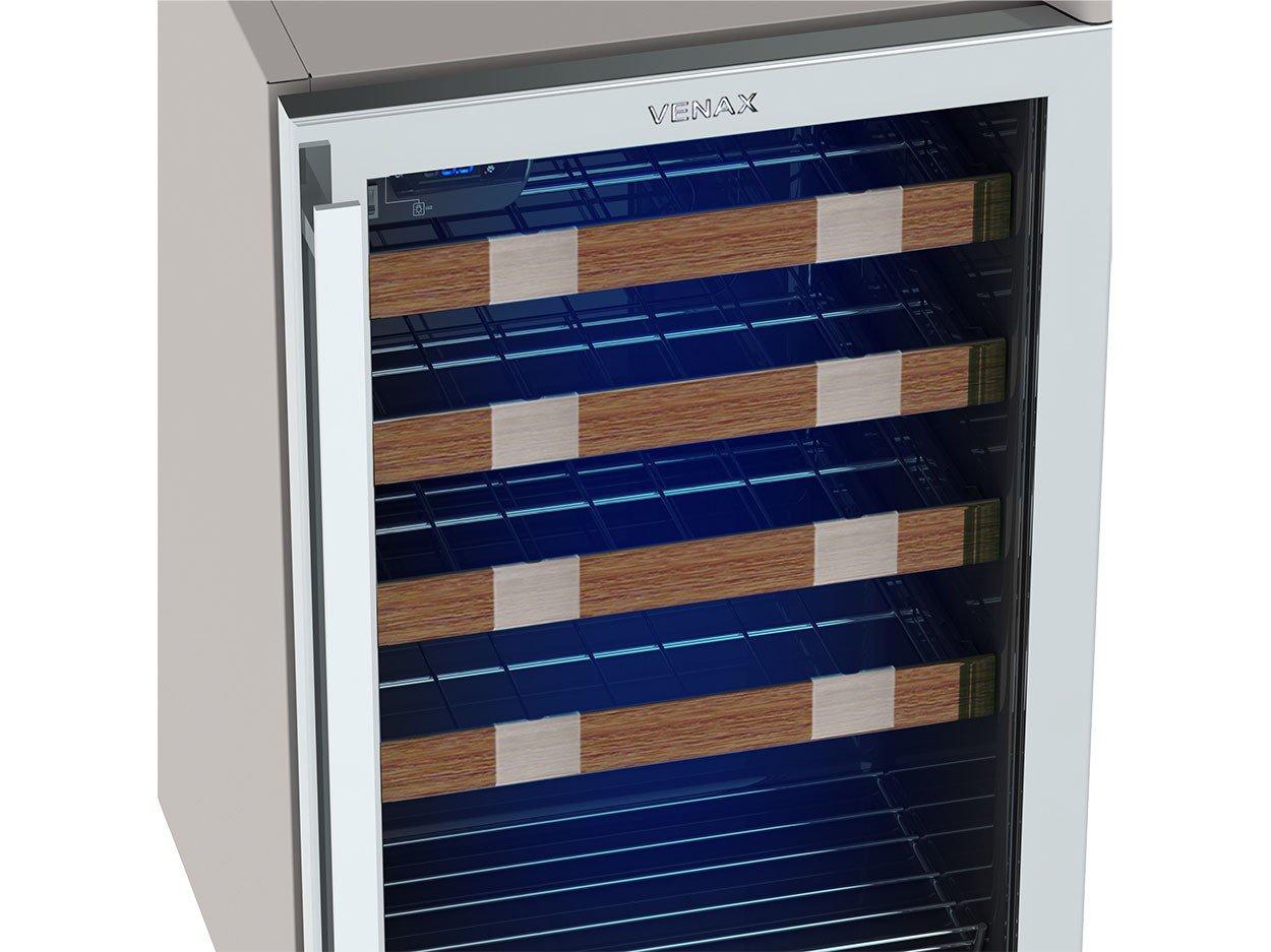 Foto 5 - Adega Climatizada Venax 24 Garrafas Piubella Cave - com Compressor Controle Digital de Temperatura