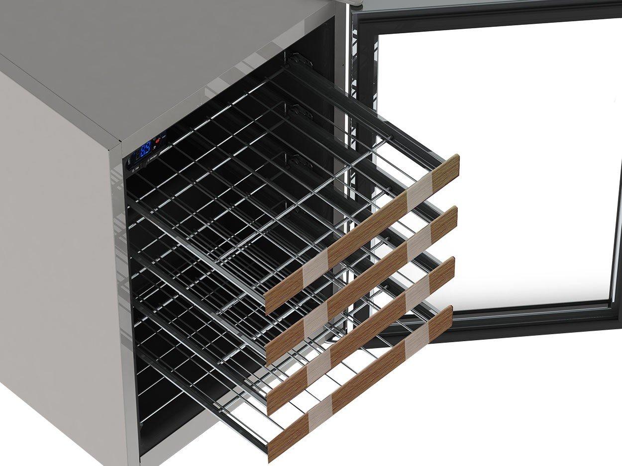 Foto 7 - Adega Climatizada Venax 24 Garrafas Piubella Cave - com Compressor Controle Digital de Temperatura
