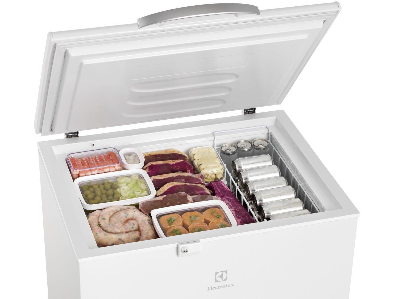 Freezer Horizontal Electrolux H222 Branco - 222L - 110V - 6