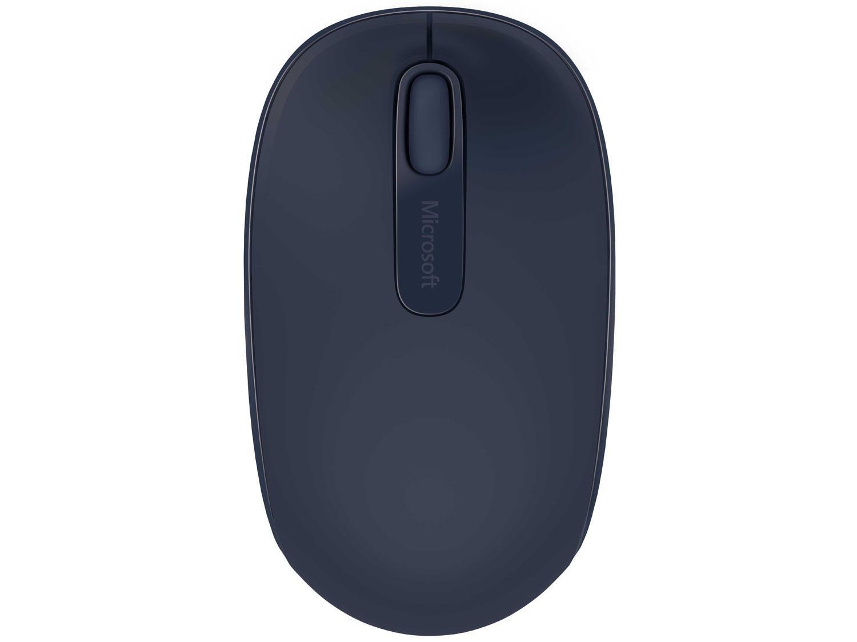Foto 3 - Mouse Sem Fio Óptico 1000dpi Microsoft - Wireless Mobile 1850