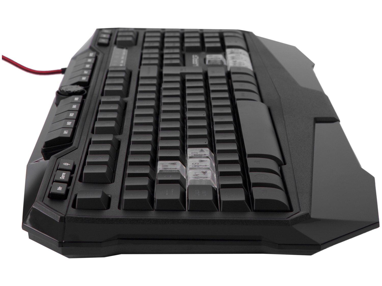 Teclado Multimídia Profissional USB - Warrior Gamer - 8