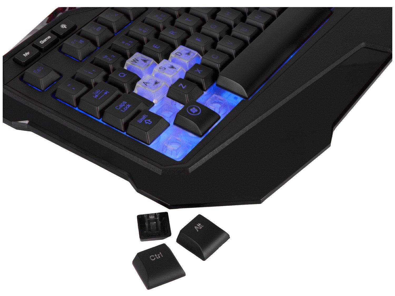 Teclado Multimídia Profissional USB - Warrior Gamer - 12