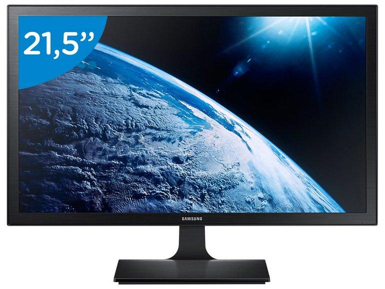 Foto 5 - Monitor Samsung LED 21,5 Full HD Widescreen - S22E310