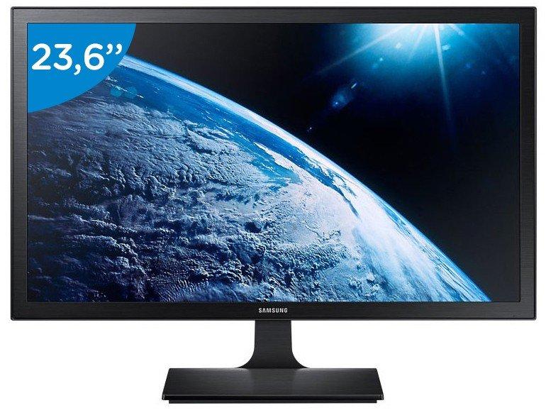 Foto 1 - Monitor Samsung LED 23,6 Full HD Widescreen - S24E310