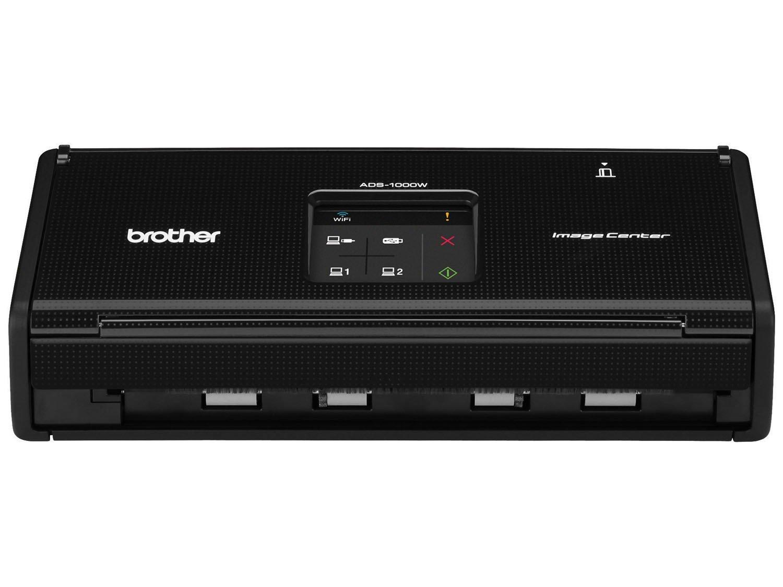 Foto 1 - Scanner de Mesa Brother ADS1000W - Alimentador Automático Digitalização Duplex Wi-Fi