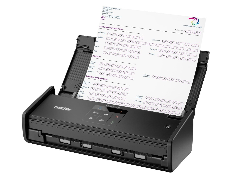 Foto 4 - Scanner de Mesa Brother ADS1000W - Alimentador Automático Digitalização Duplex Wi-Fi