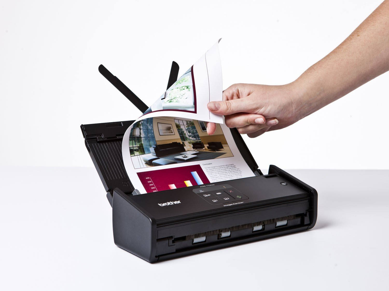 Foto 5 - Scanner de Mesa Brother ADS1000W - Alimentador Automático Digitalização Duplex Wi-Fi