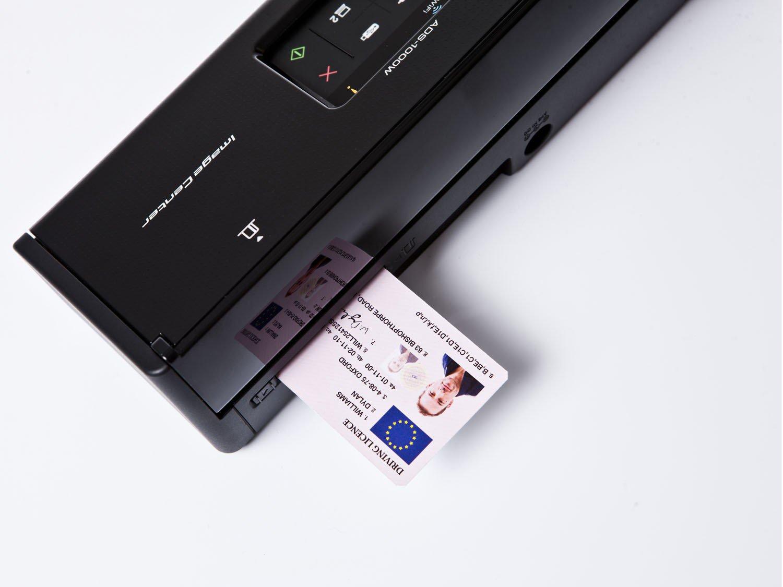 Foto 6 - Scanner de Mesa Brother ADS1000W - Alimentador Automático Digitalização Duplex Wi-Fi