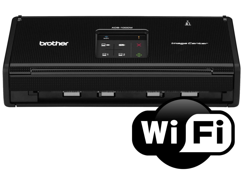 Foto 8 - Scanner de Mesa Brother ADS1000W - Alimentador Automático Digitalização Duplex Wi-Fi