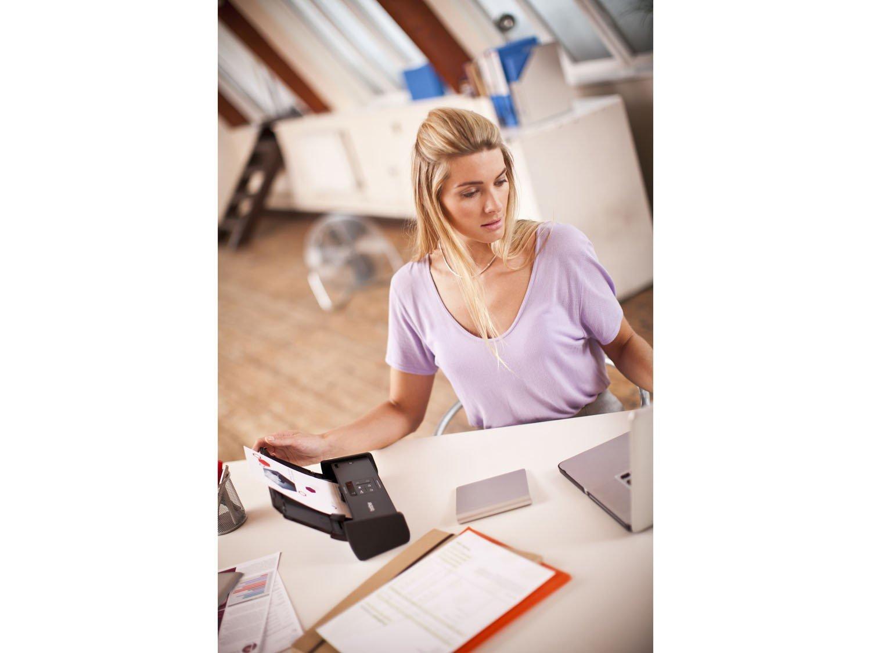 Foto 13 - Scanner de Mesa Brother ADS1000W - Alimentador Automático Digitalização Duplex Wi-Fi