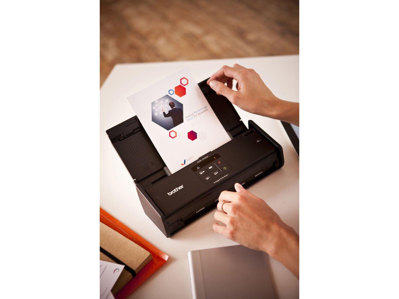 Foto 14 - Scanner de Mesa Brother ADS1000W - Alimentador Automático Digitalização Duplex Wi-Fi