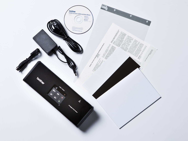 Foto 15 - Scanner de Mesa Brother ADS1000W - Alimentador Automático Digitalização Duplex Wi-Fi