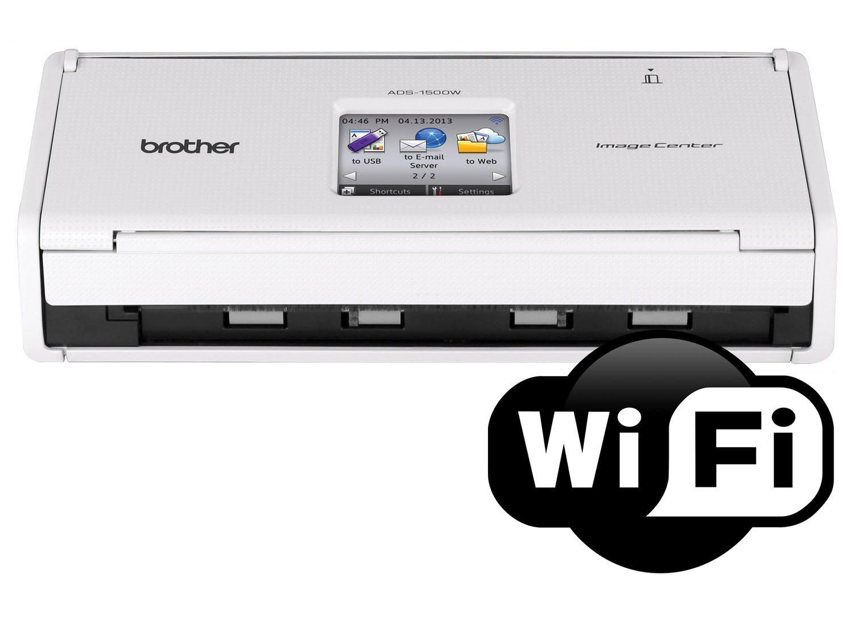 Foto 5 - Scanner de Mesa Brother ADS1500W - Colorido Wi-Fi