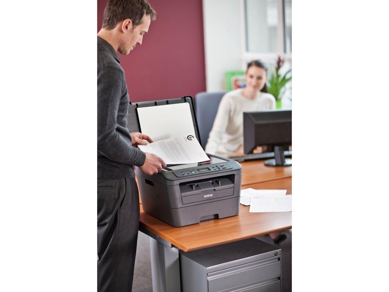 Foto 6 - Impressora Multifuncional Brother DCPL2520DW - Laser Wi-Fi Preto e Branco USB