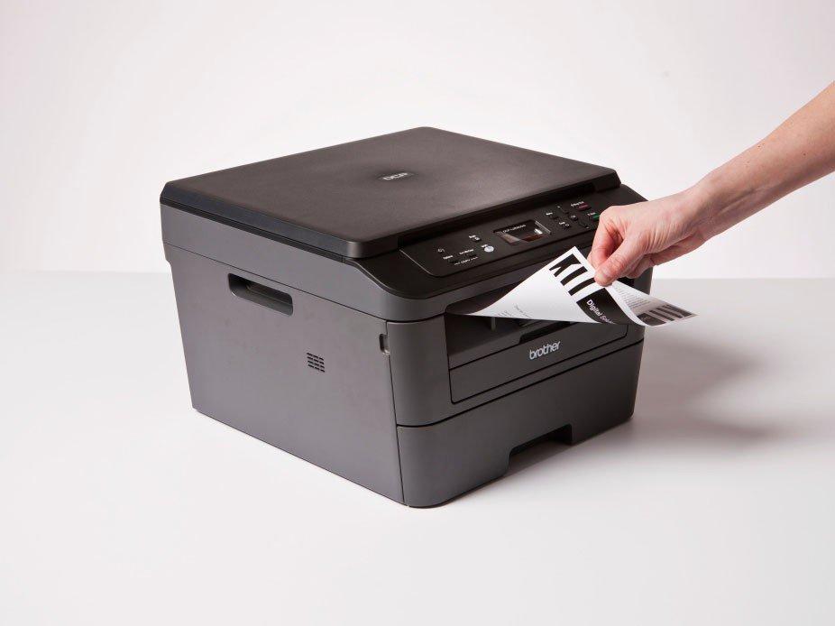 Foto 11 - Impressora Multifuncional Brother DCPL2520DW - Laser Wi-Fi Preto e Branco USB