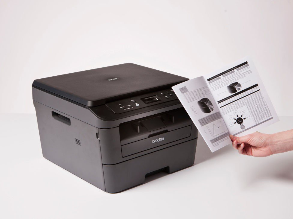 Foto 13 - Impressora Multifuncional Brother DCPL2520DW - Laser Wi-Fi Preto e Branco USB