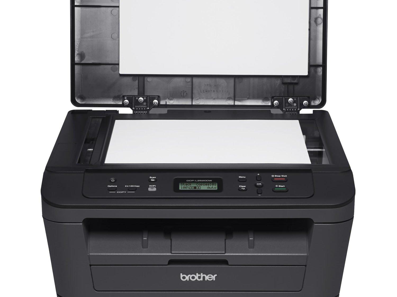 Foto 14 - Impressora Multifuncional Brother DCPL2520DW - Laser Wi-Fi Preto e Branco USB