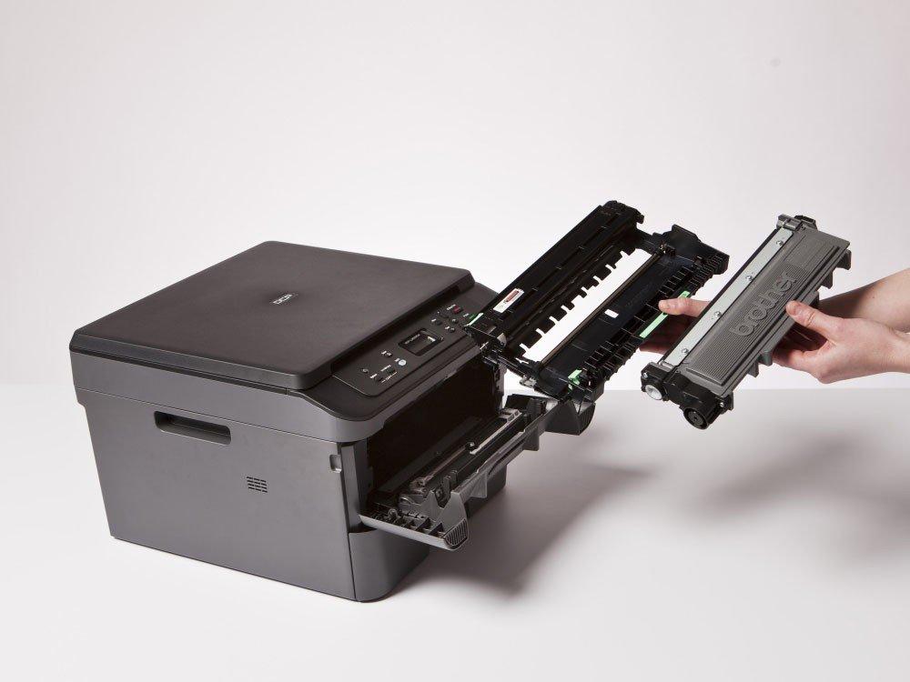 Foto 15 - Impressora Multifuncional Brother DCPL2520DW - Laser Wi-Fi Preto e Branco USB
