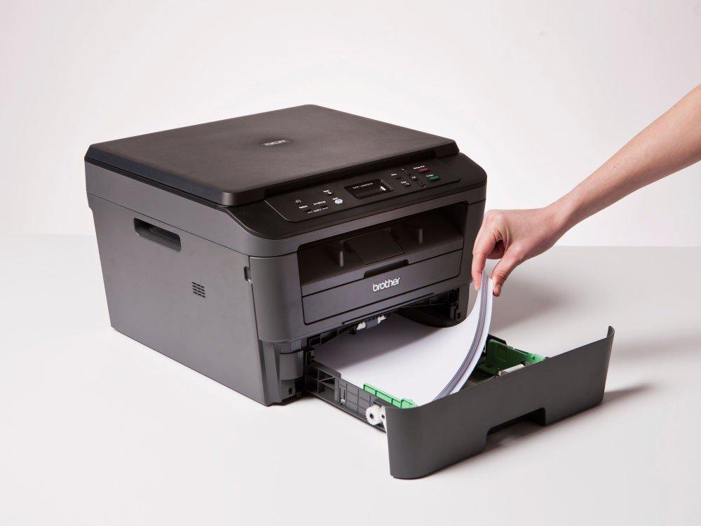 Foto 17 - Impressora Multifuncional Brother DCPL2520DW - Laser Wi-Fi Preto e Branco USB