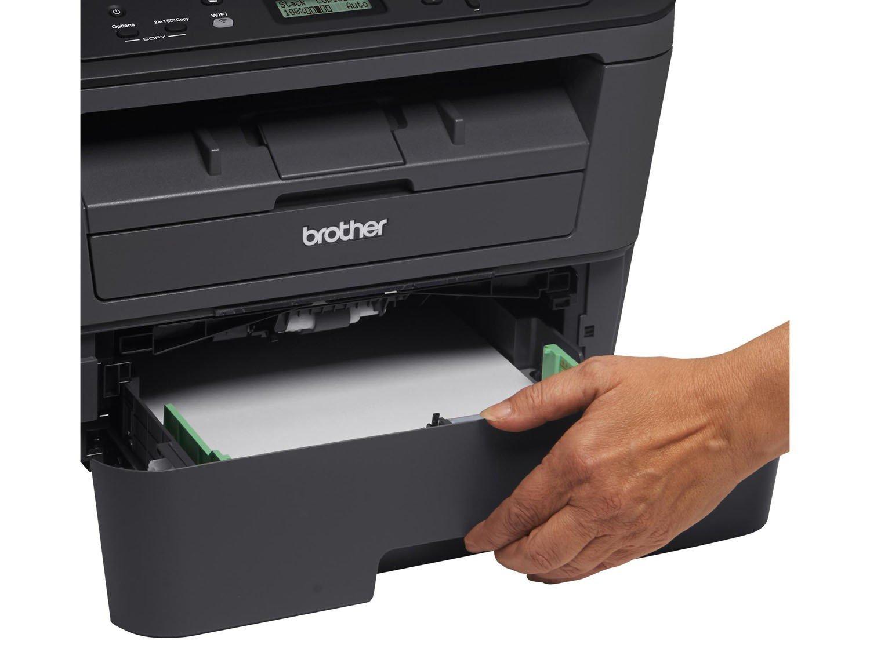 Foto 19 - Impressora Multifuncional Brother DCPL2520DW - Laser Wi-Fi Preto e Branco USB