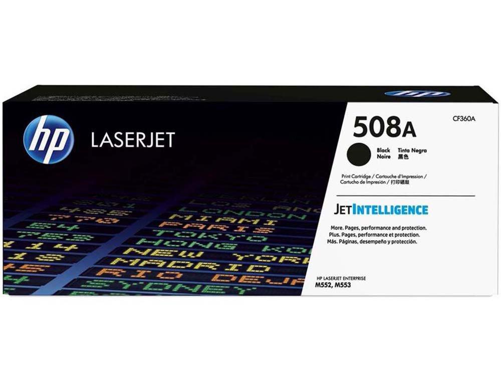Foto 1 - Toner HP Preto 508A LaserJet - Original