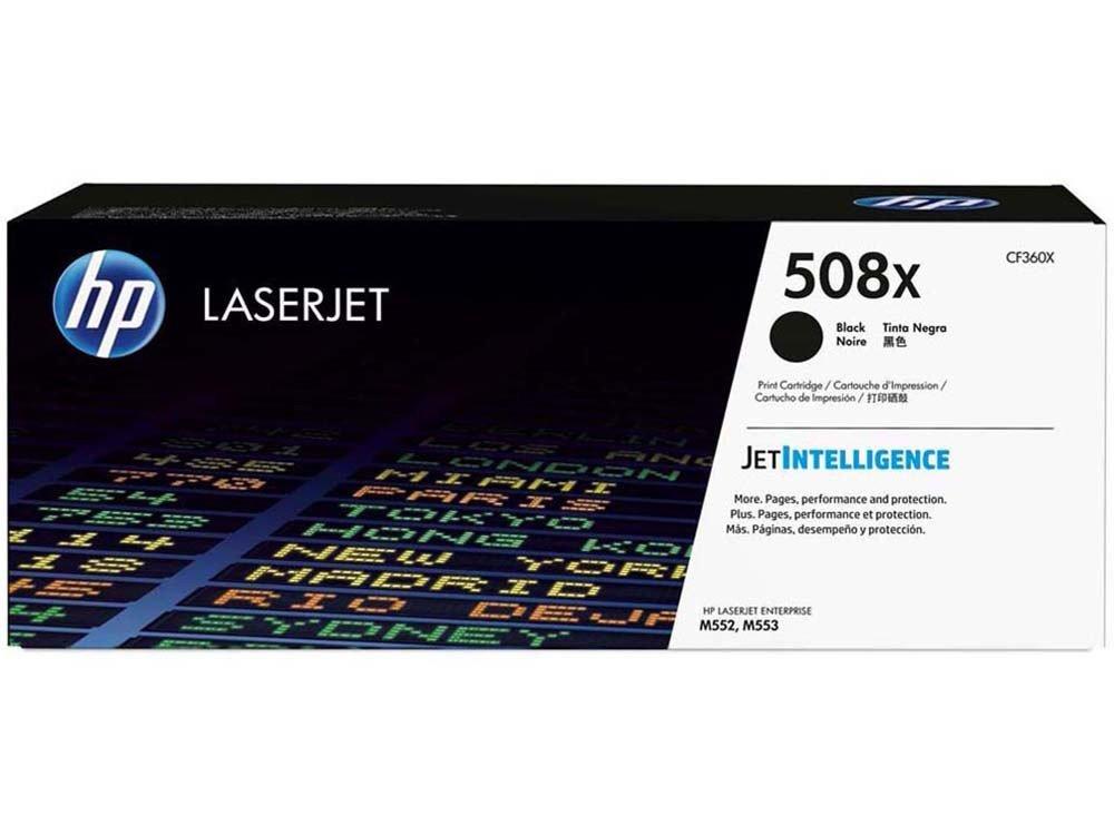 Foto 1 - Toner HP Preto - Laserjet 508X