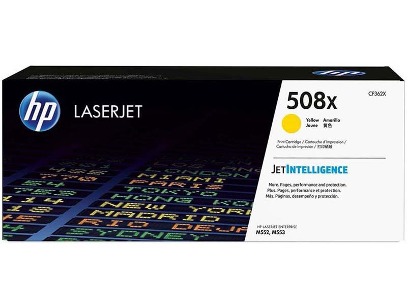 Foto 1 - Toner HP Amarelo - Laserjet 508X
