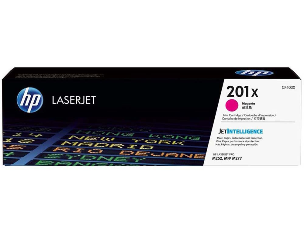 Foto 1 - Toner HP Magenta 201X LaserJet - Original