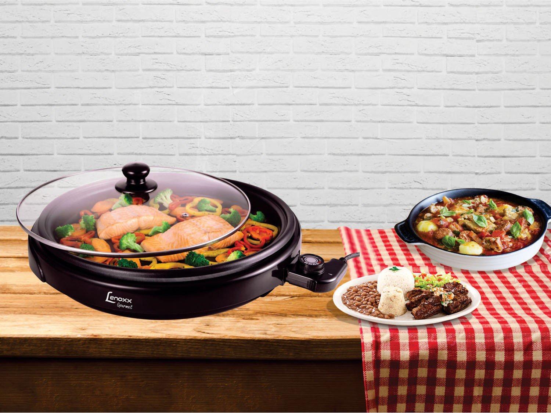 Foto 3 - Grill Lenoxx Gourmet 1250W - Controle de Temperatura